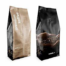 Kaffee Bohnen - Caffè Lungo + Caffè Espresso