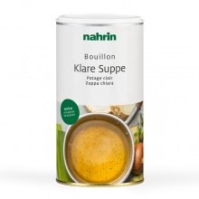 Zuppa chiara vegetale, istantanea, senza grassi